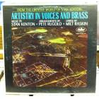 STAN KENTON ARTISTRY IN VOICES AND BRASS LP
