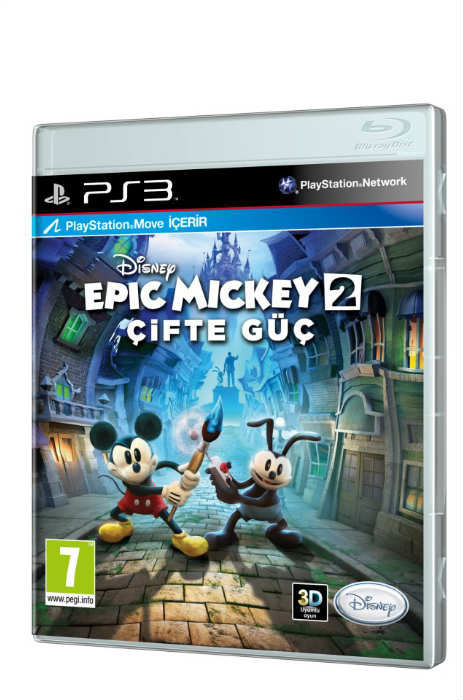 DISNEY EPIC MICKEY 2 ��FTE G�� PS3 HD PAL SIFIR