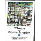 SDR@ 1 ER FORUM DU CINEMA EUROPEEN KASIM 1996