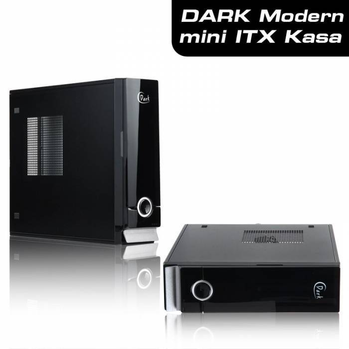 Dark Modern 150W Mini ITX Kasa