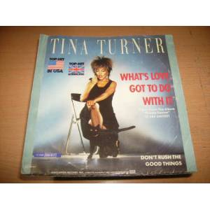 tina turner -what's love got to do with (kapak)