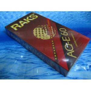 RAKS AQ-E 60 Video VHS KASET