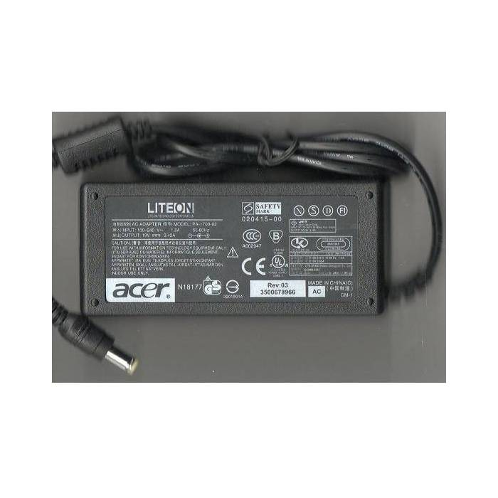 ACER 19 Volt 3,42 amper NOTEBOOK ADAPT�R�