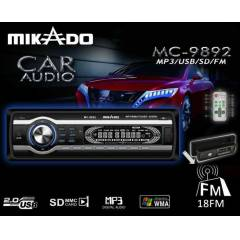 MIKADO MC-9892 ARABA TEYBI MP3/USB/SD/FM DESTEK