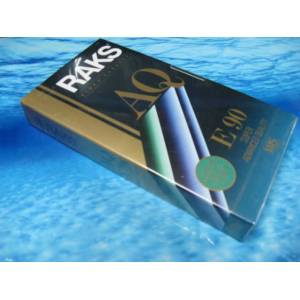 RAKS AQ E-90 Video VHS  BO�  KASET ..SIFIR