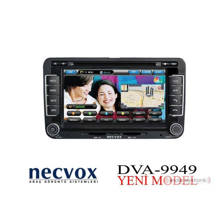 NECVOX 9949 HD BLACK EDITION 7 INCH DOUBLE