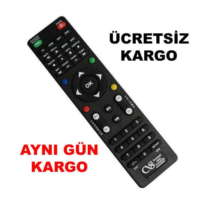 Cvs 4in 1 akilli evrensel kumanda tv dvd vcd