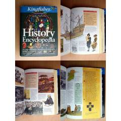 KINGFISHER HISTORY ENCYCLOPEDIA 40000 BC TO PRES