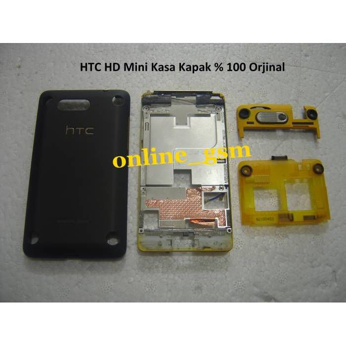 HTC HD Mini Kasa Kapak % 100 Orjinal