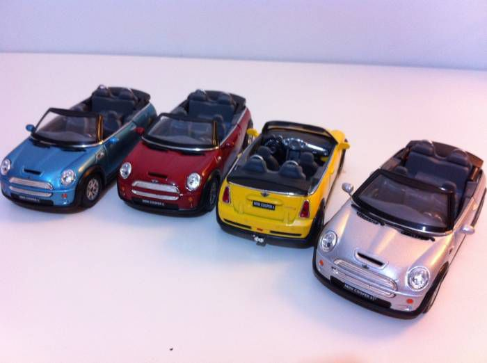�st� a��k Mini Cooper diecast MODEL metal ARABA