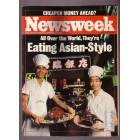 SDR@ NEWSWEEK EATING ASIAN STYLE 25 A�USTOS 1986