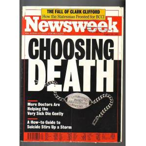 SDR@ NEWSWEEK CHOOSING DEATH 26 A�USTOS 1991
