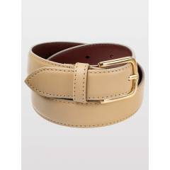 AMERICAN APPAREL Unisex Basic Leather Belt Kemer