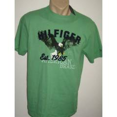 Tommy Hilfiger Erkek T-shirt - 1012 - Medium