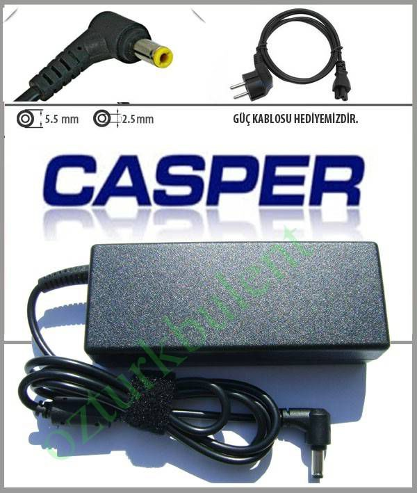 CASPER NIRVANA A15HE 19V 4.74A LAPTOP ADAPT�R�