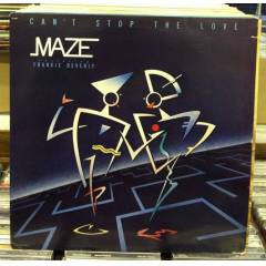 MAZE FRANKIE BEVERLY CAN'T STOP THE LOVE LP 2.E