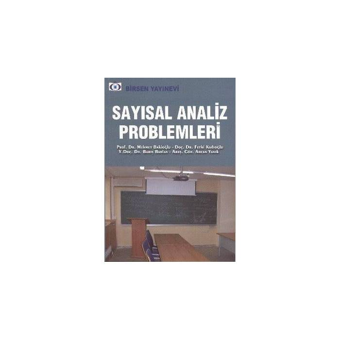 Say�sal Analiz Problemleri
