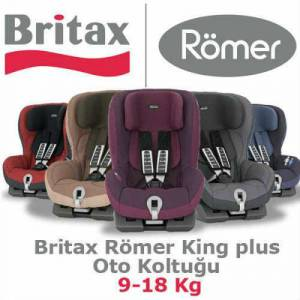Britax-R�mer King Plus Oto Koltu�u (9-18 Kg) NEW
