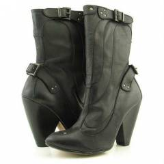 DIESEL Wild Girls Loud Dressy Black Boots No 39