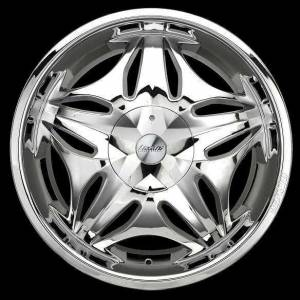 LEXAN� DYNASTY 18'' CHROME JANT