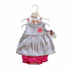 CARTERS KIZ BEBEK BODY+�ORT+BLUZ SET 3 AY