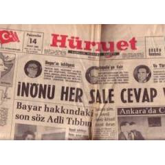 SDR@ H�RR�YET GAZETEC� 14 MART 1963