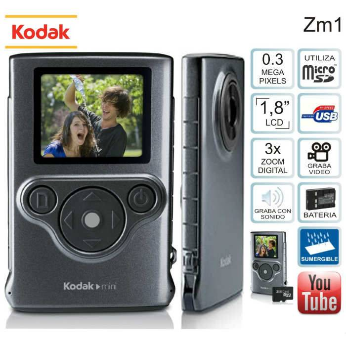 Kodak ZM1 Mini Su Alt� Video Kamera