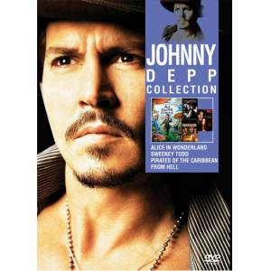 JOHNNY DEPP COLLECTION DVD F�LM