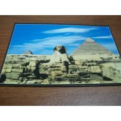 PYRAMIDS OF GIZA & THE SPHINX  / MISIR K.POSTAL+