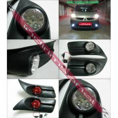 F�AT DOBLO 2010-G�ND�Z DRL POWER LED S�S FARI
