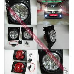 F�AT F�OR�NO 2007-G�ND�Z DRL POWER LED S�S FARI