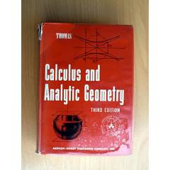 CALCULUS AND ANALYTIC GEOMETRY - THOMAS