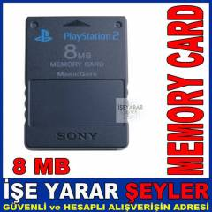 SONY PLAYSTATION2 8 MB MEMORY CARD HAFIZA KARTI