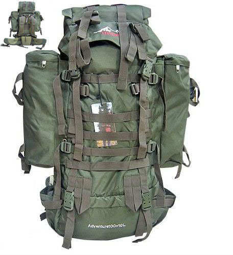 Moda  tactical askeri S�rt �antas� 100 Lt+10 Lt