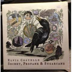 ELVIS COSTELLO - SECRET, PROFANE & SUGARCANE LP