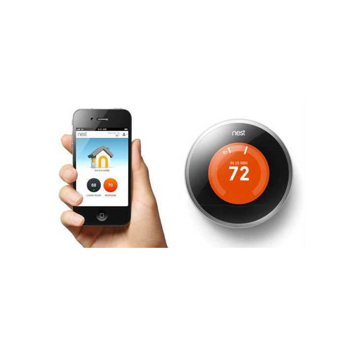 iPhone 4/4S Termostat - Nest Learning Thermostat