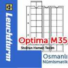 Leuchtturm OPTMA M35 Madeni Para Sayfas