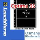 Leuchtturm OPTMA 3S - siyah, 3 gzl sayfa
