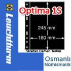 Leuchtturm OPTMA 1S - siyah, 1 gzl sayfa
