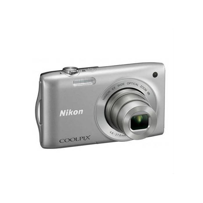 "Nikon S3300 16 Mp 6x Optik 2.7"" LCD FOTO MAK."