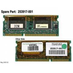 HP COMPAQ 32MB EKRAN KARTI VIDEO MEMORY RAM
