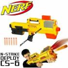 NERF N-STRKE DEPLOY CS 6 DART SLAHI