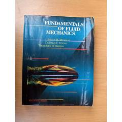 FUNDAMENTALS OF FLUID MECHANICS - BRUCE R. MUNSO