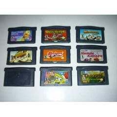 N�NTENDO GAME BOY ADVANCE SP OYUN 9 ADET