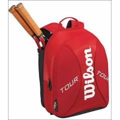 Wilson S�rt �antas� Notebook & Raket B�lmeli Red