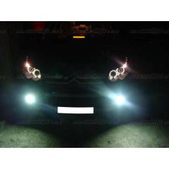 Citroen C4 04-08 Siyah Angel Eyes Far sonar
