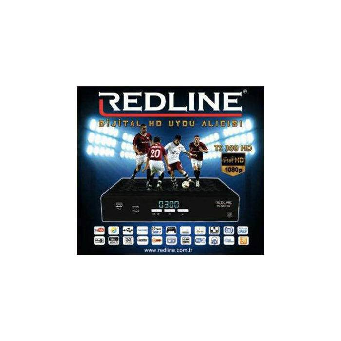 Redline Ts 300 Full HD IP TV Mini Uydu Al�c�s�