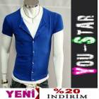 Youstar Fashion T-shirt,l� Ceket-S-M-L-XL-(L98A)