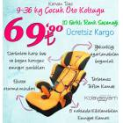 Kervani Toys 9-36 kg ocuk Oto Koltugu