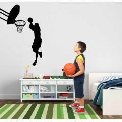 BS231 Basketbol �ocuk Odas� Duvar Sticker